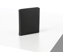 Rino - Unisex Hakiki Deri Cüzdan Siyah