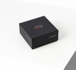 3.5 cm Erkek Klasik Dikişli Süet Hakiki Deri Kemer Lacivert - Thumbnail