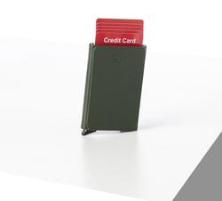 Rino - Unisex Hakiki Deri Kartlık Yeşil